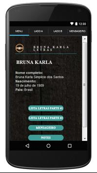 Bruna Karla Letras Gospel poster
