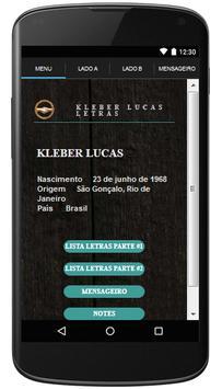 Kleber Lucas Letras Gospel poster