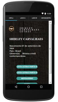 Shirley Carvalhaes Letras poster