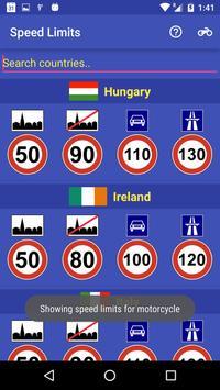 Speed Limits screenshot 1