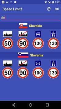 Speed Limits screenshot 2