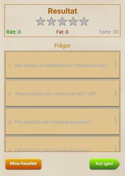 Kommun Quiz apk screenshot