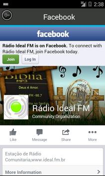 Radio ideal fm 98.7 screenshot 1
