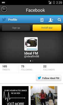 Radio ideal fm 98.7 screenshot 2