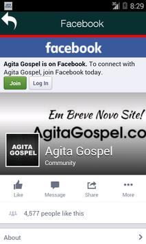 Radio Agita Gospel apk screenshot