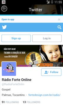 Rádio Forte Online screenshot 2