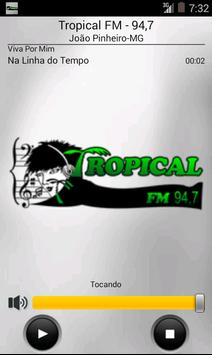Tropical FM - 94,7 poster