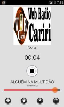 Webradio Cariri poster
