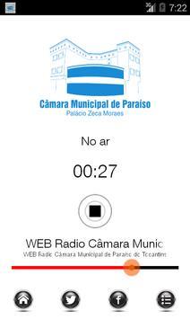 Web Radio Câmara de Paraíso poster