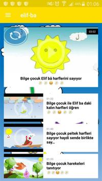 Elif Bâ Çocuk poster