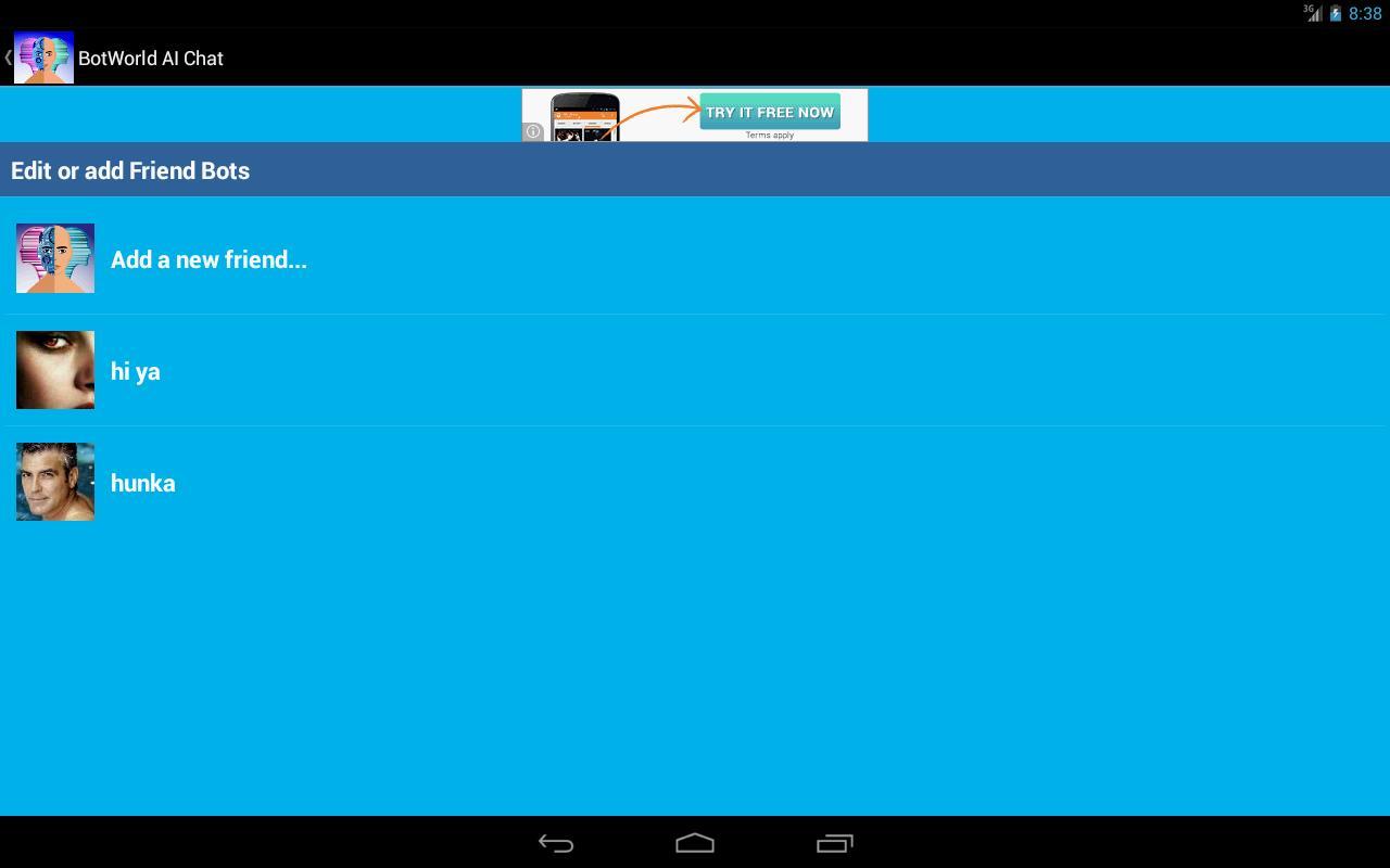 bot world ai chat friend para android apk baixar