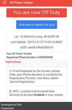 AP Police Tracking System apk screenshot