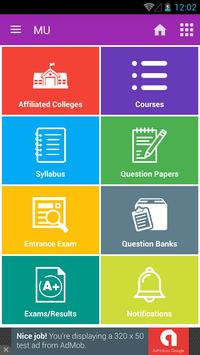 MU -Question Papers & Syllabus poster