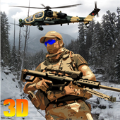 Ghost frontline battelfield 3D icon