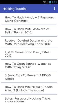 Hacking Tutorial 2016 for Android - APK Download