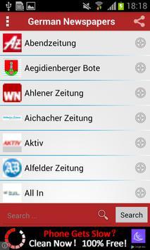 German Newspapers screenshot 1