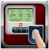 Finger Blood Pressure Prank BP icon