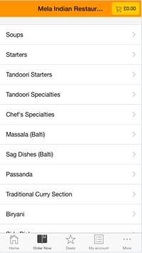 Mela Indian Restaurant screenshot 2