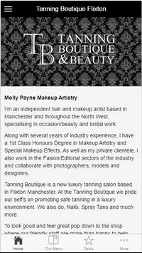 Tanning Boutique & Beauty Flx screenshot 1