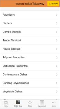 T Spoon Indian Takeaway screenshot 2