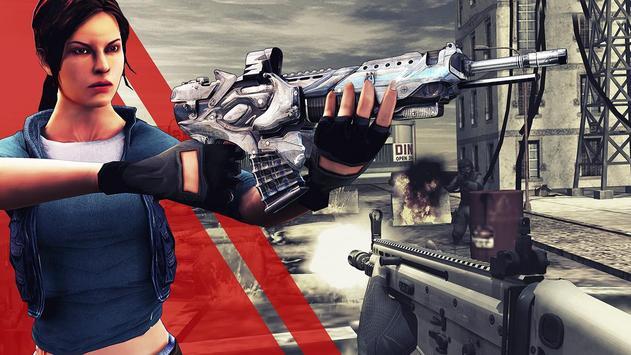 Elite Girl :Commander war poster