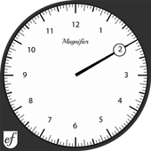 Decent White Watch Face icon