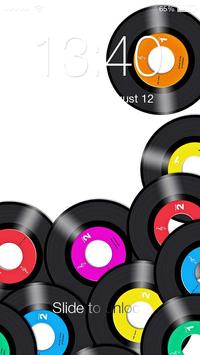 Vinyl Disc HD Lock poster