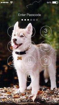 Husky Dog Lock apk screenshot