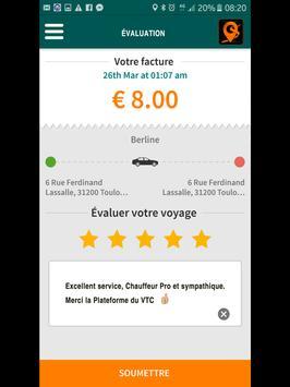 La Plateforme VTC screenshot 13
