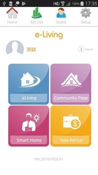e-Living screenshot 1