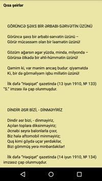 Şeirlər (M. Ə. Sabir) apk screenshot
