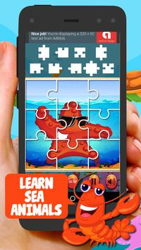 Sea Animal Jigsaw Puzzles For Kids screenshot 5