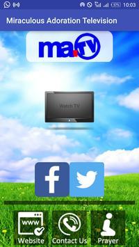 Miraculous Adoration Tv poster