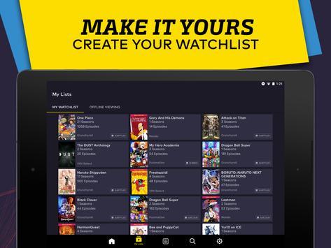 VRV: Anime, game videos & more apk screenshot