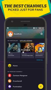 VRV: Anime, game videos & more apk screenshot