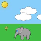 Elliot the Elephant Wallpaper icon