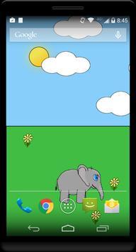 Elliot the Elephant Wallpaper poster