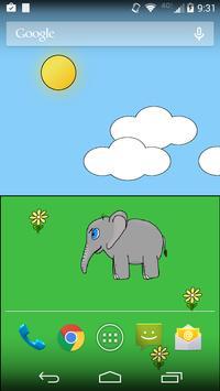 Elliot the Elephant Wallpaper apk screenshot