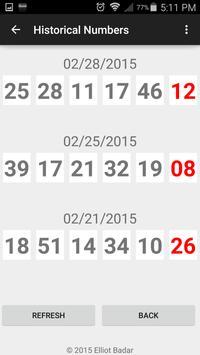 Lottery Predictor screenshot 1