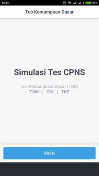 Simulasi Tes CAT CPNS 2018 screenshot 13