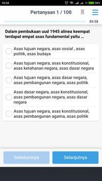 Simulasi Tes CAT CPNS 2018 screenshot 14