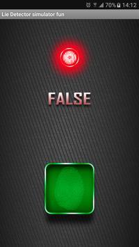Lie Detector simulator fun screenshot 2