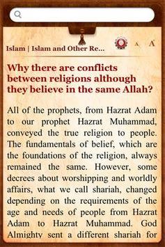 Questions on Islam apk screenshot