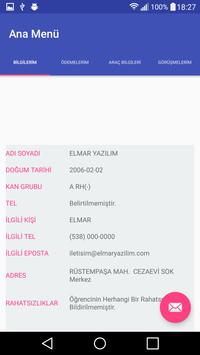 Elmar Servis Takip Veli apk screenshot