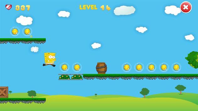Jungle World of Sponge apk screenshot