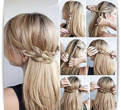 Easy Hairstyle Tutorial - Step By Step APK Download - Free Lifestyle ...