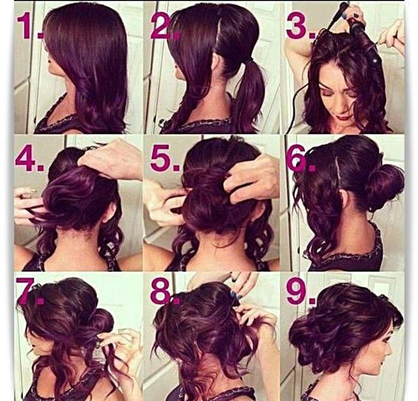 Easy Hairstyle Tutorial Step By Step For Android Apk Download