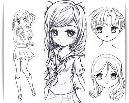 Zeichnen Anime Madchen Fur Android Apk Herunterladen