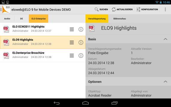 ELO 9 for Mobile Devices apk screenshot