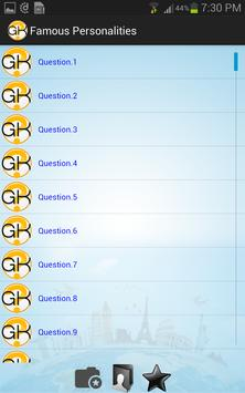 General Knowledge apk screenshot